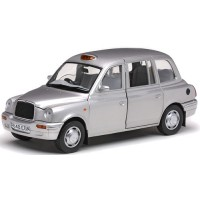 LONDON Taxi Cab TX1, 1998, platinum silver