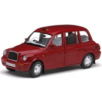 LONDON Taxi Cab TX1, 1998, targa red