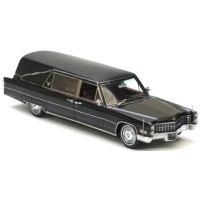 CADILLAC S&S Hearse with closed coffin, 1966