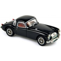 MG A Coupé, 1956, black