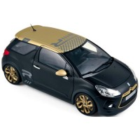 CITROËN DS3 Racing, 2013, matt black/gold
