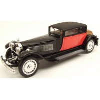 BUGATTI 41 Royale Weymann, 1929, red/black