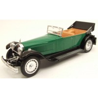 BUGATTI 41 Royale Torpedo open, 1928, green/black