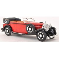 MAYBACH DS 8 Zeppelin, 1930, met.red/white