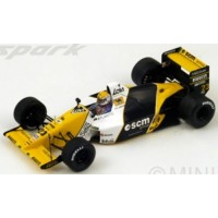 MINARDI M189 GP GreatBritain'89 #23, P.Martini