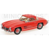 MERCEDES-BENZ 300 SL Roadster (W198), 1957, red (with hardtop)