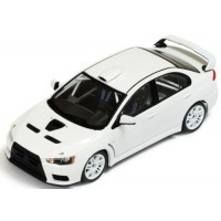 MITSUBISHI Lancer EvoX Rally Spec, 2011, white (includes 2 sets of wheels and tyres)