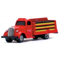 Coca-Cola 2-Axle Bottle Truck, red