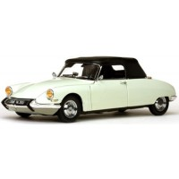 CITROËN DS 19 Convertible open, 1961, carrare white