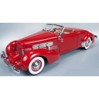 CORD 812 Convertible, 1937, red