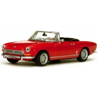 FIAT 124 Spider BS, 1970, red