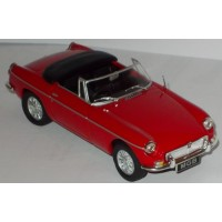 MG B Convertible open, 1964, red (limited 1500)