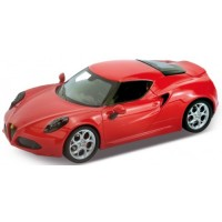 ALFA ROMEO 4C, 2013, red