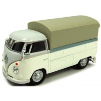 VOLKSWAGEN T1 Pick-up with tarpaulin, white/grey