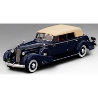 CADILLAC V16 Convertible Sedan Fleetwood, 1934, d.blue