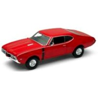 OLDSMOBILE 442, 1968, red