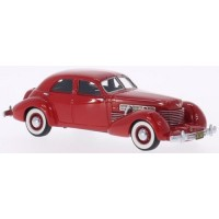 CORD 812 Supercharged Sedan, 1937, red
