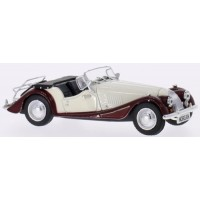 MORGAN 4/4 (rhd), 1974, white/brown