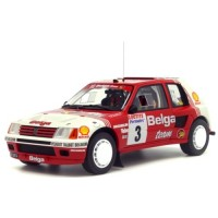 PEUGEOT 205 T16 Gr.B Rally Ypres'85 #3, Darniche / Mahé (limited 2000)