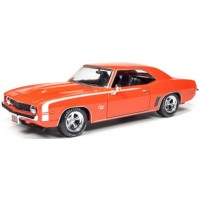 CHEVROLET Camaro, 1969, orange