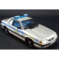 FORD Mustang South Carolina Highway Patrol, 1991, silver