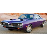 DODGE Coronet Super Bee, 1970, plum crazy