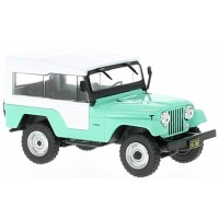 JEEP CJ-5, 1963, l.green/white