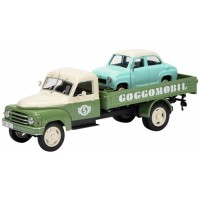 HANOMAG L28 Pick-up with GOGGOMOBIL load (limited 750)