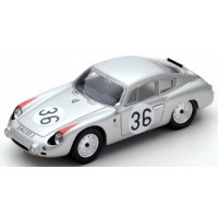 PORSCHE 356 B Carrera Abarth GTL 24h LeMans'61 #36, 10th H.Linge / B.Pon
