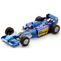 BENETTON B195 GP GreatBritain'95 #2, 1995, winner J.Herbert