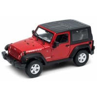 JEEP Wrangler Rubicon closed top, 2007, red