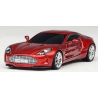 ASTON MARTIN One-77, transparent red
