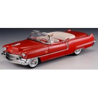 CADILLAC Series 62 Convertible open, 1956, red