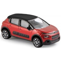 CITROËN C3, 2016, red/black