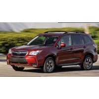 SUBARU Forester 2.0XT, 2013, red