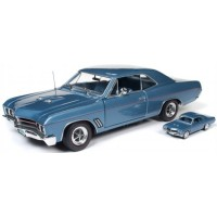 BUICK GT Hardtop, 1967, sapphire blue (including 1/64 model)