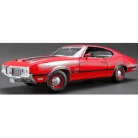 OLDSMOBILE 442 W30, 1970, red on black