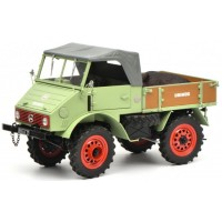 MERCEDES-BENZ Unimog 401 with boar, l.greeen (limited 750)