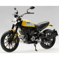 DUCATI Scrambler Classic 803cc, 2015, orange sunshine