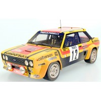FIAT 131 Abarth Rally MonteCarlo'80 #12, Arii / Mouton, finish line