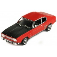 FORD Capri 1700 GT, 1970, red/black