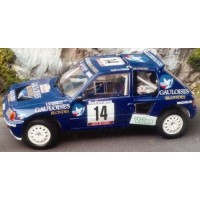 PEUGEOT 205 T16 Rally TdCorse'85 #14, Darniche / Mahé (limited 1002)