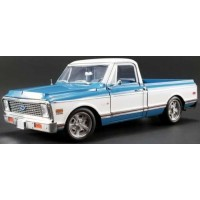 CHEVROLET C10, 1969, blue/white (limited 750)
