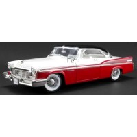 CHRYSLER New Yorker St.Regis, 1956, regimental red/cloud white/raven black