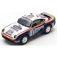 PORSCHE 959 Rally ParisDakar'86 #185, 2nd J.Ickx / C.Brasseur
