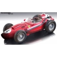FERRARI F1 Dino 246 GP France'58 #4, winner M.Hawthorn, finish line