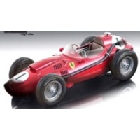 FERRARI F1 Dino 246 GP GreatBritain'58 #1, winner P.Collins, finish line
