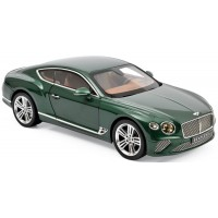 BENTLEY Continental GT, 2018, met.verdant