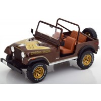 JEEP CJ-7 Golden Eagle, 1980, maroon