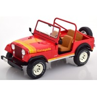 JEEP CJ-7 Renegade, 1980, red